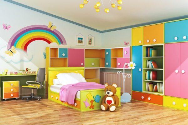 Camera copilului: cum combini culorile?